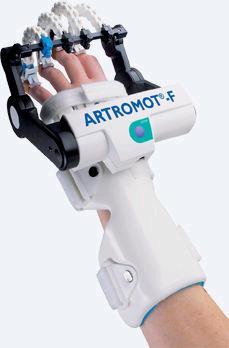 Тренажер ARTROMOT- F для пассивной разработки сустава кисти, включая большой палец