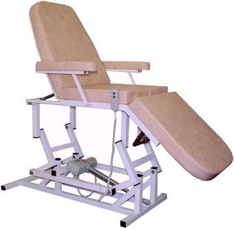 Косметологическое кресло-кушетка 3-х секционное с электроприводом
