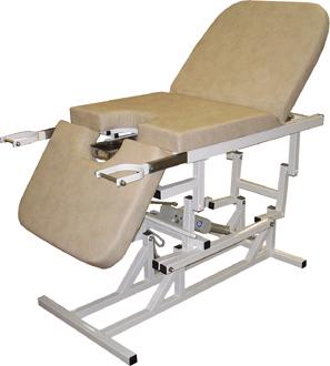 Кресло гинекологическое 3-х секционное с электроприводом