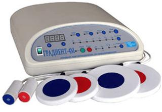 Аппарат электро-свето-магнитотерапии Градиент-4М